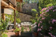 Relaxzone im Garten_zona relax nel giardino