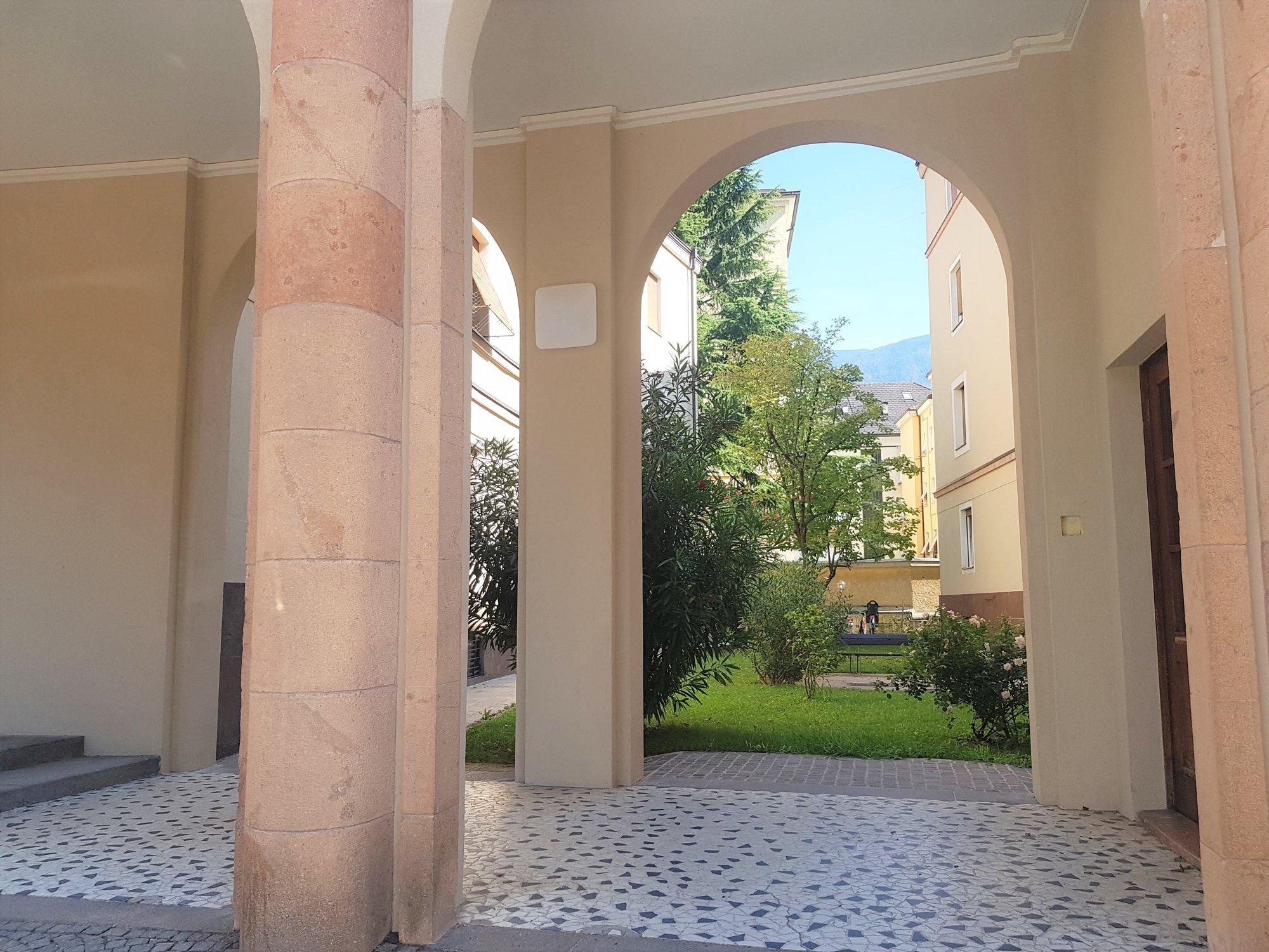 Eingang Hofraum