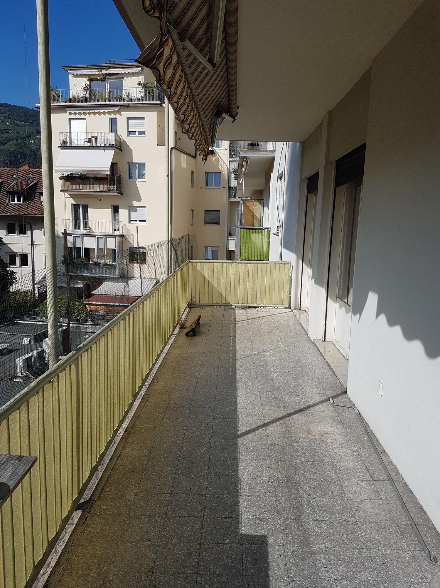 Sehr großer Balkon