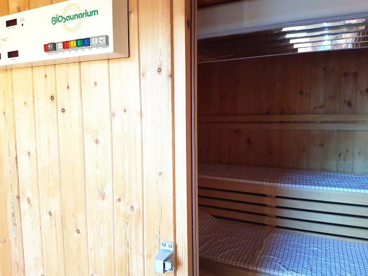 Sauna im Dachboden