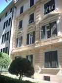 Sonnige Fassade