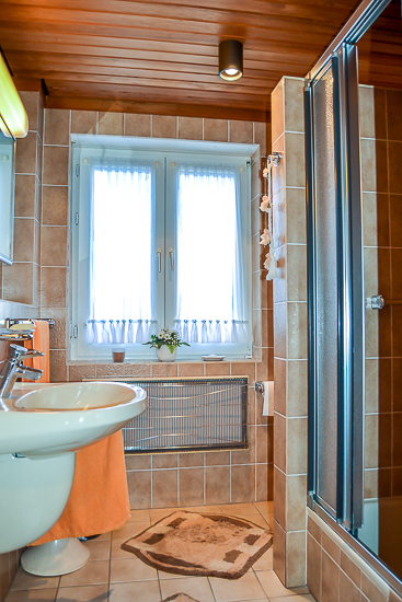 Badezimmer im Erdgeschoss...