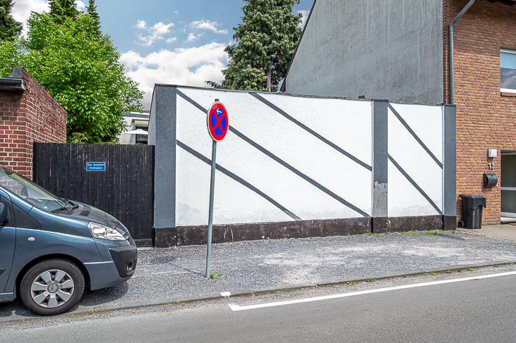 Zufahrt - Bauland