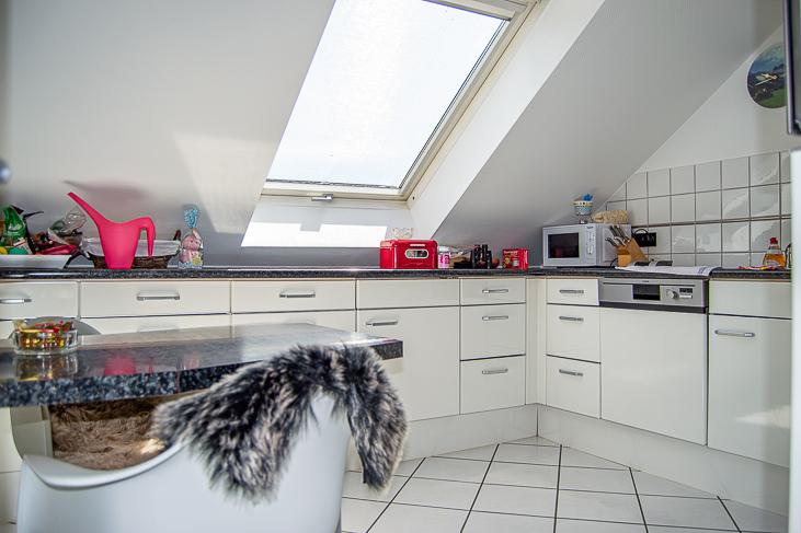 Wohnung DG: Küche...