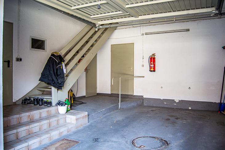 Garage am Haupthaus...
