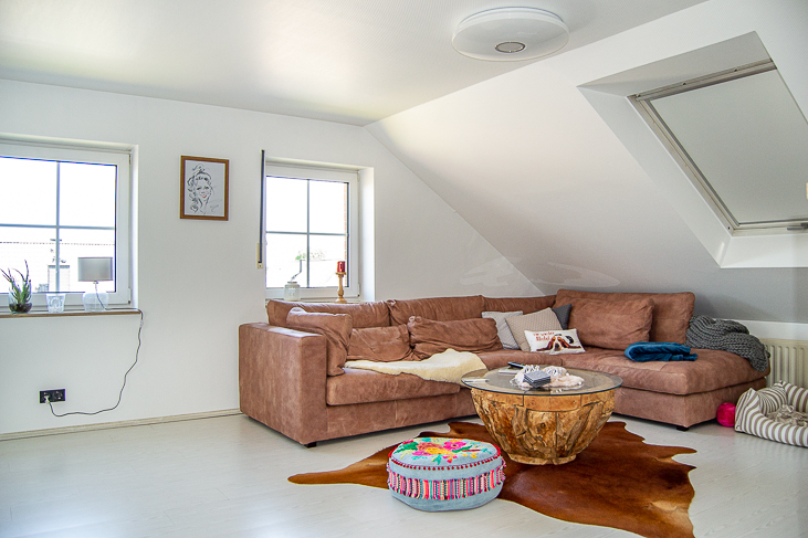 Wohnung DG:Wohnen/Essen...