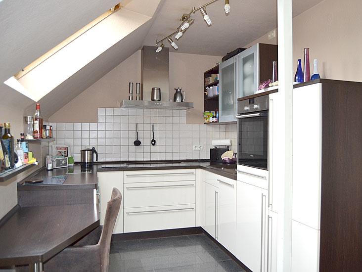 Offene Küche...