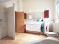 Badezimmer im DG