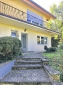 Ansicht Haus mit Zugang zur Wohnung