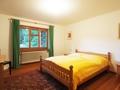 Schlafzimmer in der Einliegerwohnung