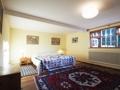 Schlafzimmer mit Ausblick im OG