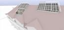 Umbauidee Westseite mit neuer Dachterrasse