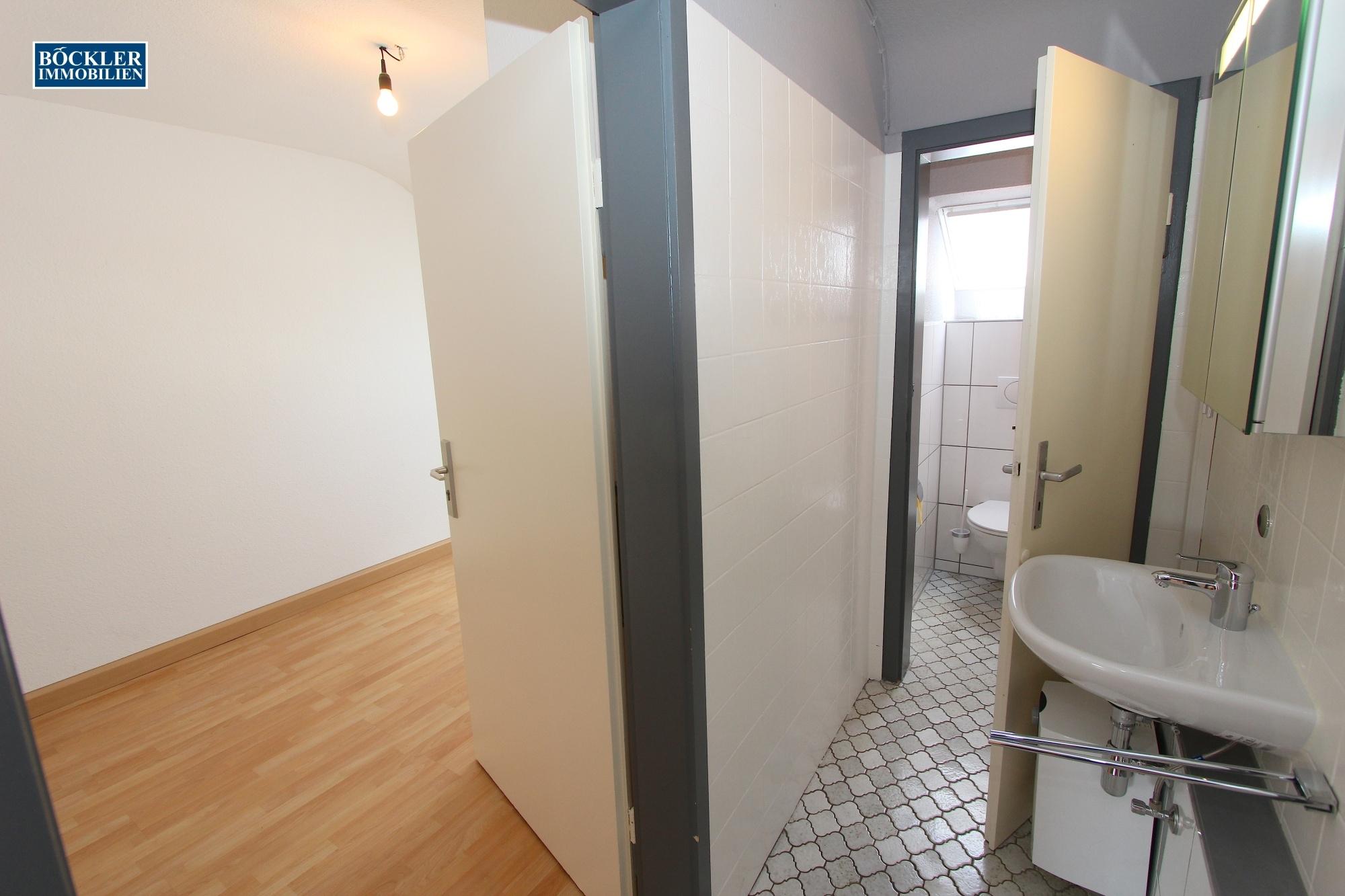 Überblick Küche - WC