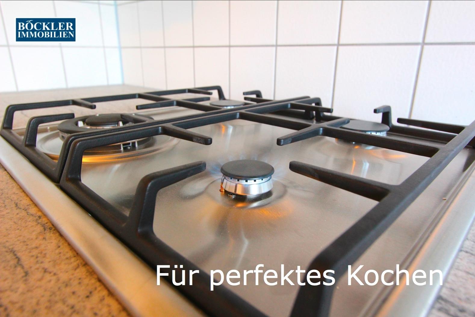 Gas-Herd für perfektes Kochen