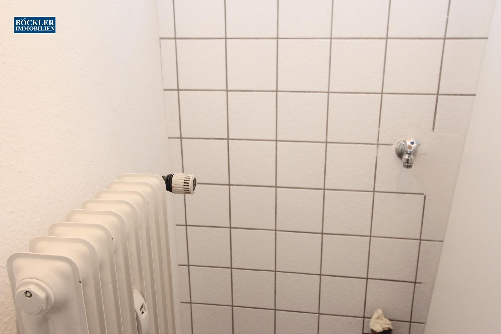 Waschmaschinen-Stellplatz