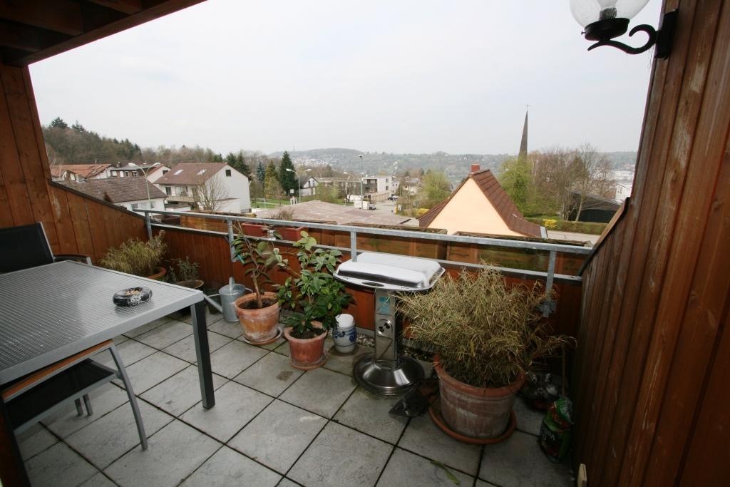 Balkon mit Fernsicht