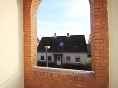Erker-Treppenhaus