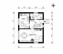 Grundriss Skizze Erdgeschoss
