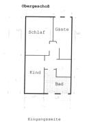 Grundriss-Skizze-Obergeschoß