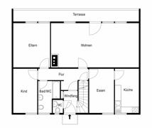 Grundriss-Skizze-Erdgeschoss