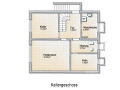 Kellergeschoss-Skizze