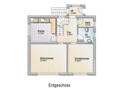 Erdgeschoss-Skizze