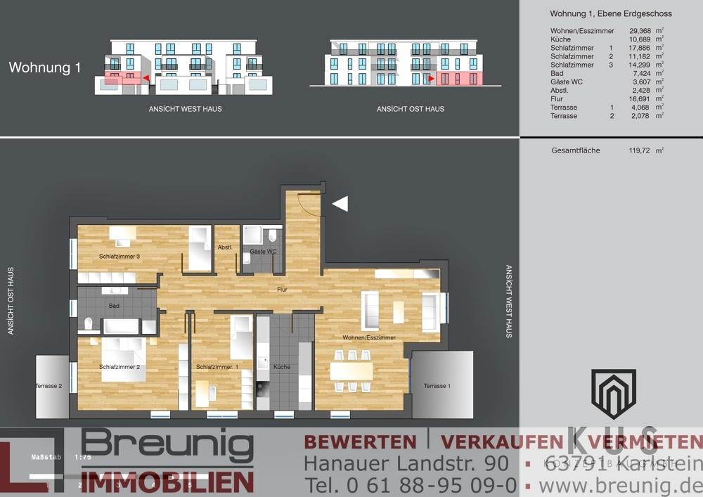 Wohnung 1 - EG links