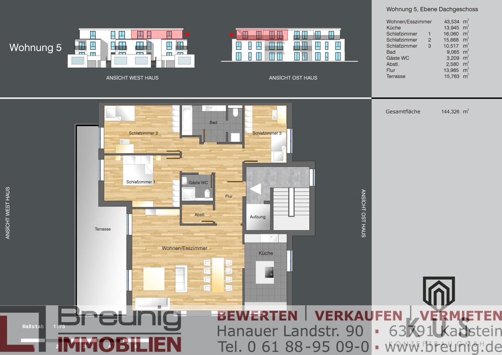 Wohnung 5 - DG