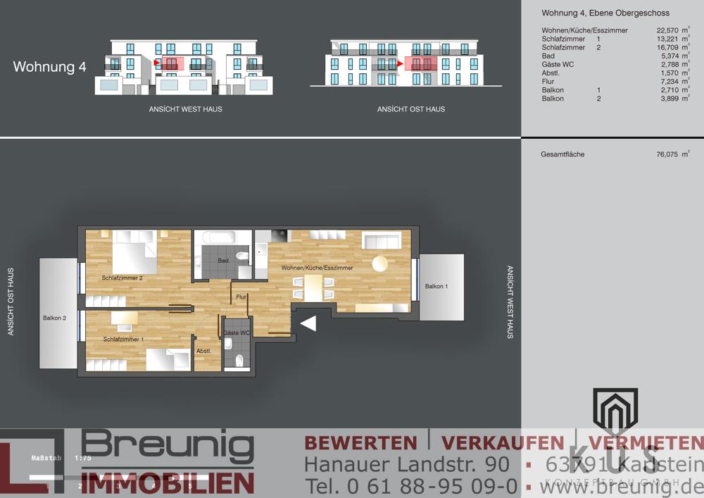 Wohnung 4 - OG rechts