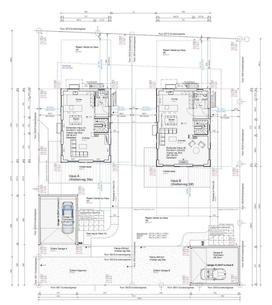 Lageplan / Grundriss