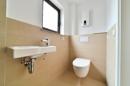 Teilansicht Duschbad im Erdgeschoss