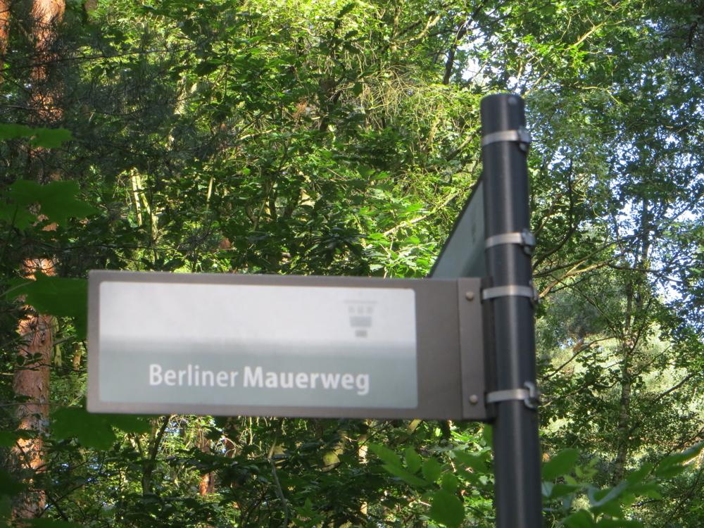 Bergfelde - unweit Stadtgrenze