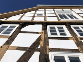 Fachwerk Fassade