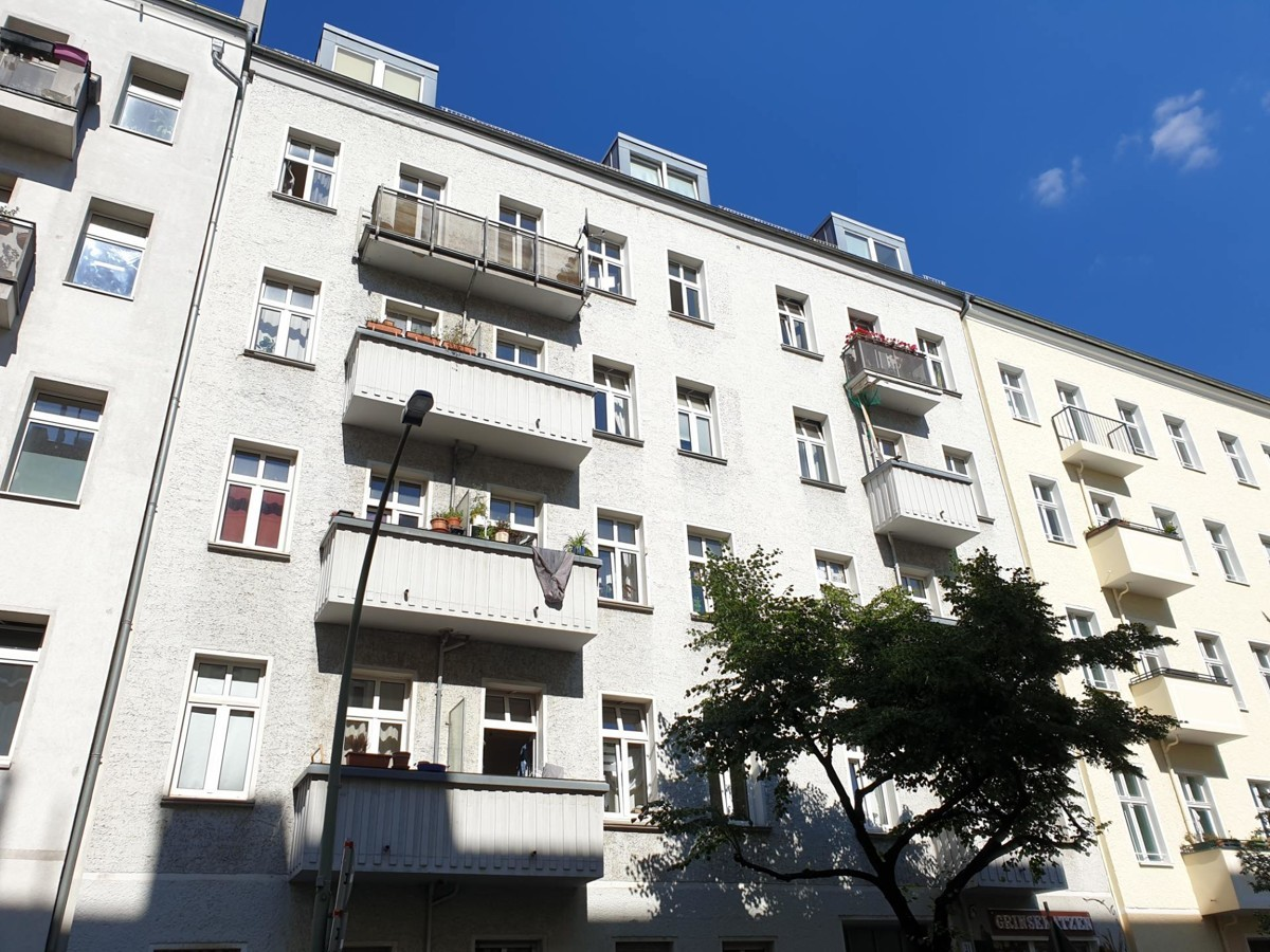Beautiful 2 Room Apartment in the District Friedrichshain as Investment