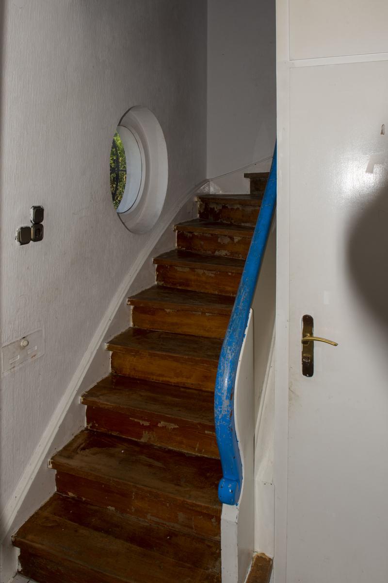 Treppe zum 1 =G