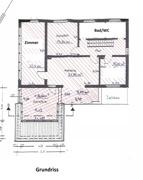 Grundriss Hauptwohnung