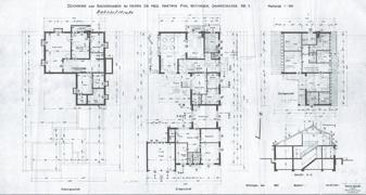 Grundriss Haupthaus und Praxis 460