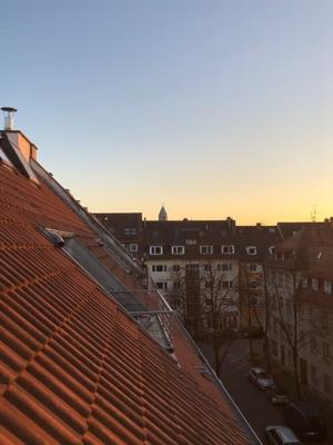 Ausblick Dachbalkon