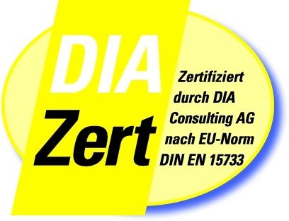 DIA Zertifiziert