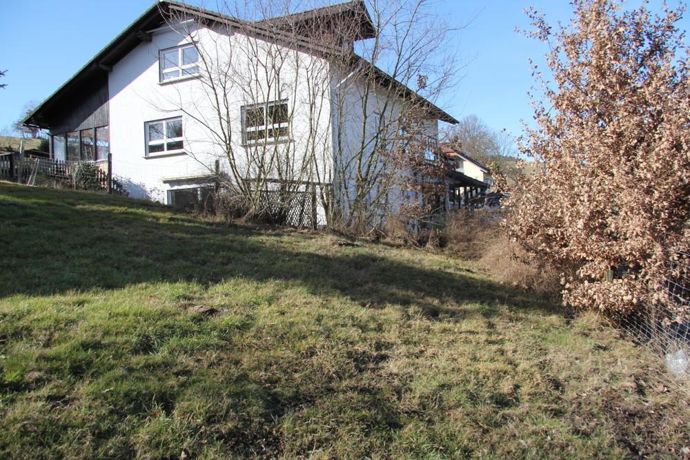 Grundstück-Hanglage