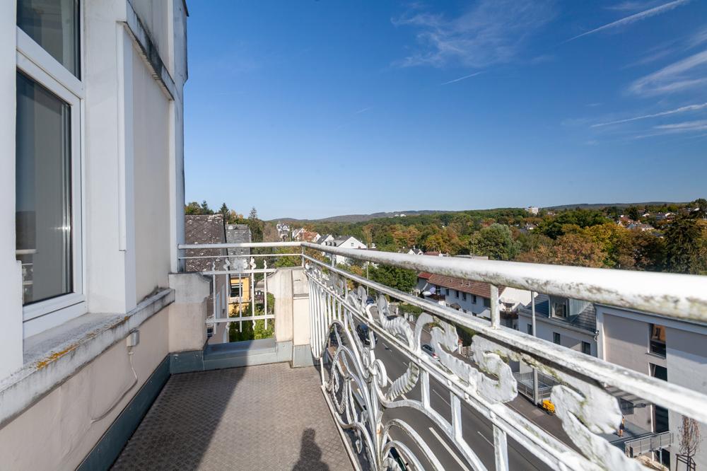 Balkon am Wohnbereich mit Blick