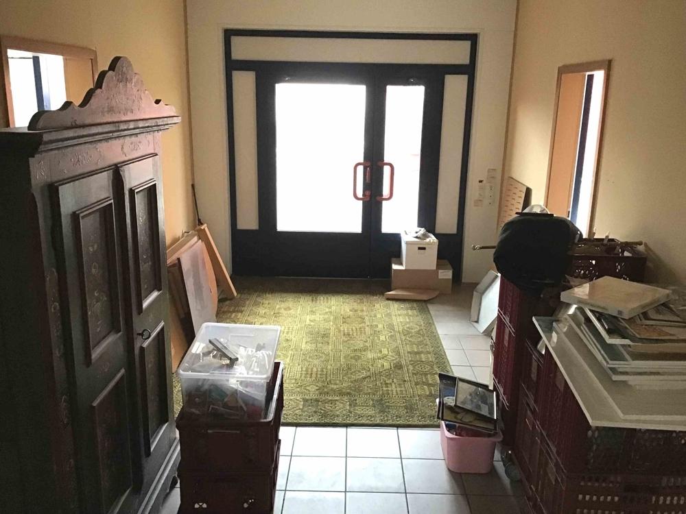 Eingangsbereich Haus 2 oder Büro