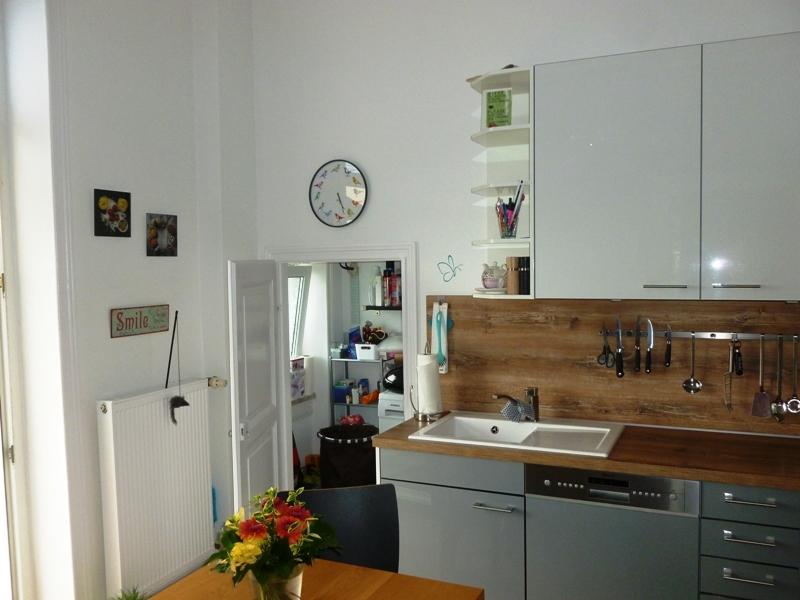 Abstellraum an der Küche