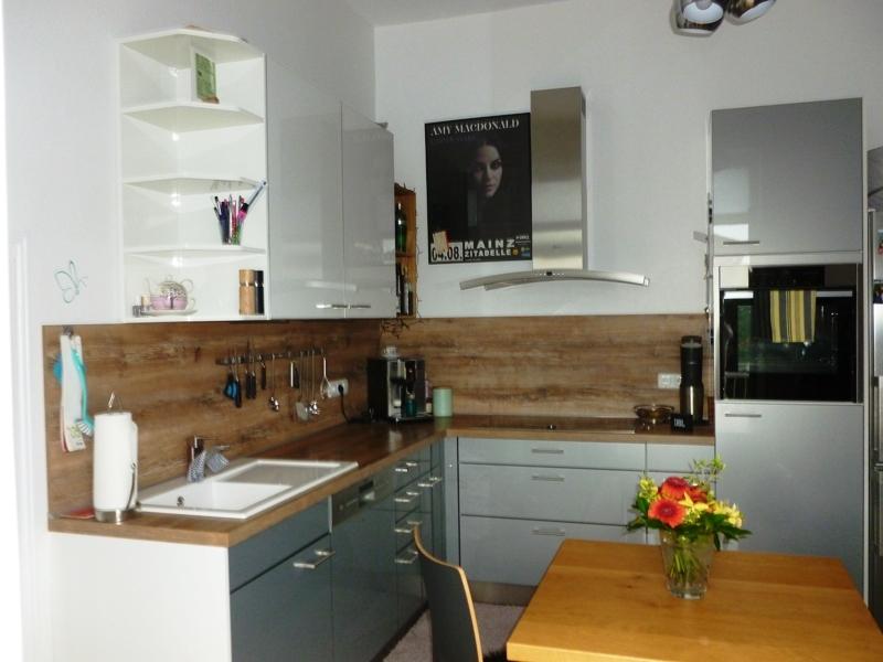 eingerichtete Wohnküche