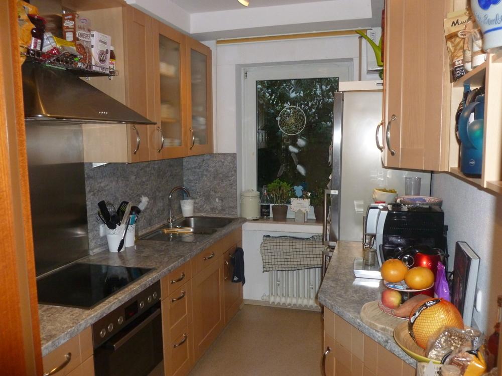 eingerichtete Küche