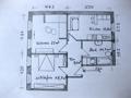 Exemplarischer Grundriss einer Wohnung