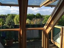 Spitzboden mit Terrasse