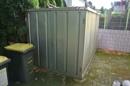 Container für Gartengeräte