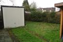 Garage und Gartenstückchen