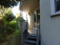 Balkon mit Abgang zum Garten